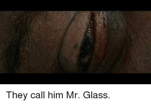 Memes, 🤖, and Glass: They call him Mr. Glass.