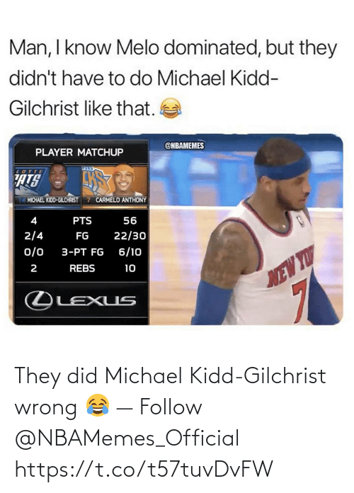 Nbamemes: They did Michael Kidd-Gilchrist wrong 😂 — Follow @NBAMemes_Official https://t.co/t57tuvDvFW
