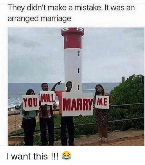 Arranged Marriage: They didn't make a mistake. It was an  arranged marriage  WILL  ME I want this !!! 😂