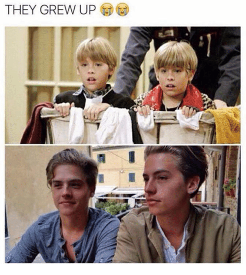 Funny: THEY GREW UP