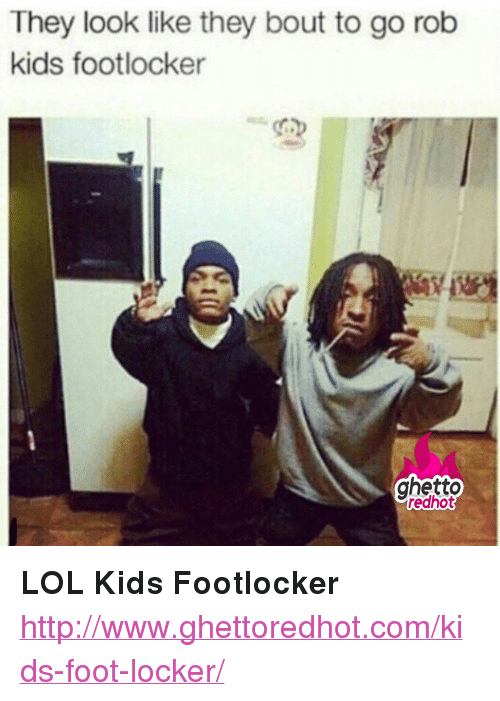 """Footlocker: They look like they bout to go rob  kids footlocker  ghetto  edhot <p><strong>LOL Kids Footlocker</strong></p><p><a href=""""http://www.ghettoredhot.com/kids-foot-locker/"""">http://www.ghettoredhot.com/kids-foot-locker/</a></p>"""