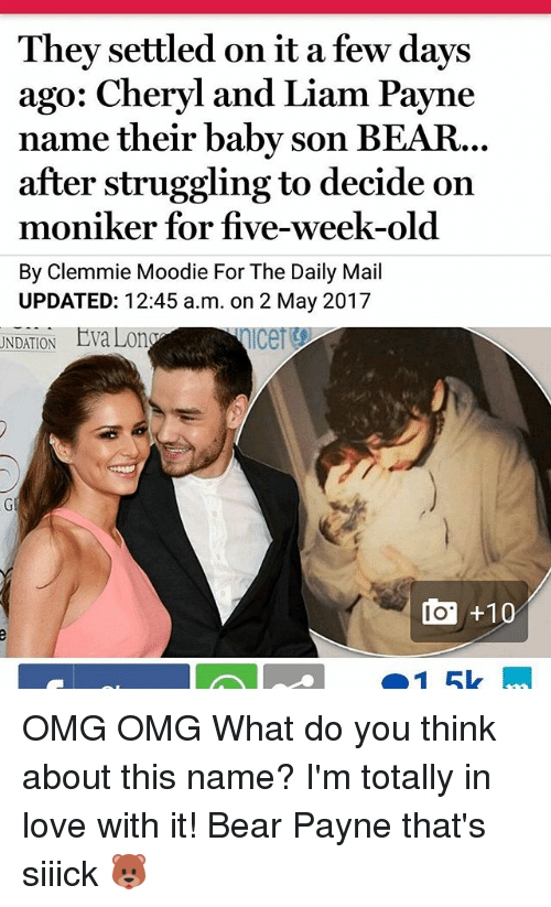 they settled on it a few days ago cheryl and 19856453 🅱 25 best memes about cheryl and liam cheryl and liam memes