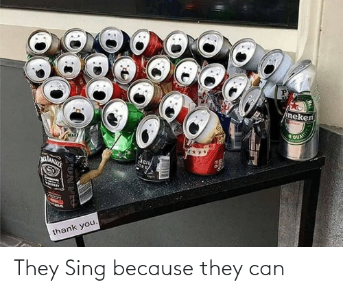 sing: They Sing because they can