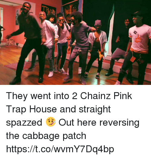 Blackpeopletwitter, Trap, and Trap House: They went into 2 Chainz Pink Trap House and straight spazzed 🤒 Out here reversing the cabbage patch https://t.co/wvmY7Dq4bp