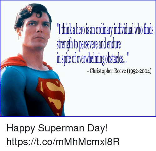christopher reeve essay