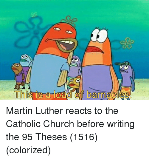 Church, Martin, and SpongeBob: Thi