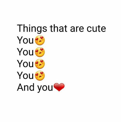 how to know if you are cute