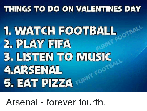 Things to do on valentines day 1 watch football 2 play for Great things to do for valentines day