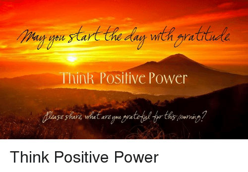 Memes, Power, and 🤖: Think Positive Power  ake Think Positive Power