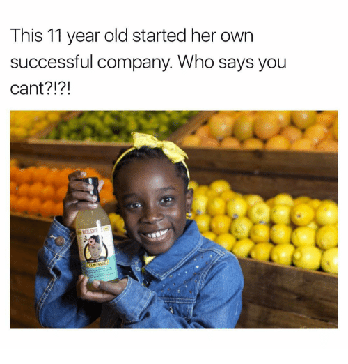 The Company That Invented T: This 11 Year Old Started Her Own Successful Company Who