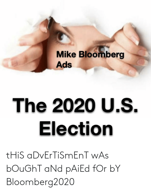 Advertisment: tHiS aDvErTiSmEnT wAs bOuGhT aNd pAiEd fOr bY Bloomberg2020