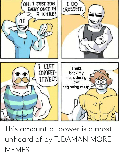 Amount: This amount of power is almost unheard of by TJDAMAN MORE MEMES