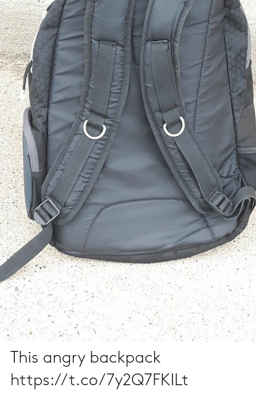 Backpack: This angry backpack https://t.co/7y2Q7FKILt