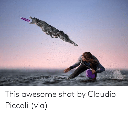 Awesome: This awesome shot by Claudio Piccoli (via)