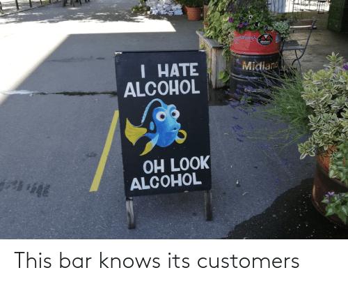 bar: This bar knows its customers
