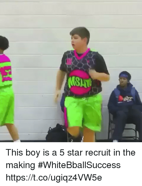 starly: This boy is a 5 star recruit in the making #WhiteBballSuccess https://t.co/ugiqz4VW5e