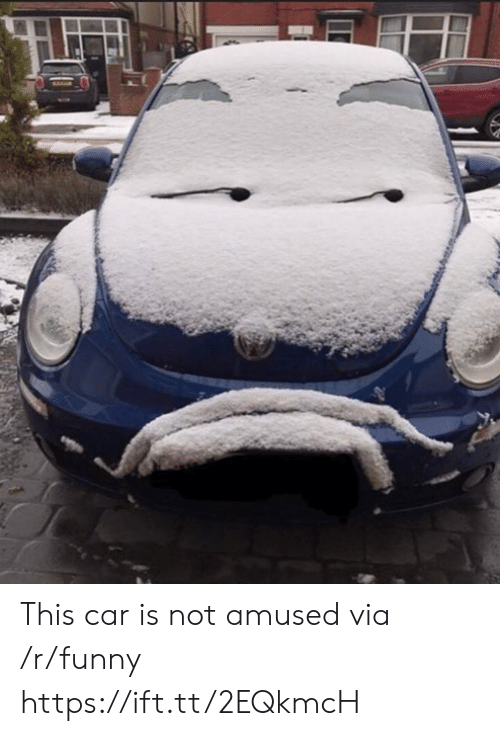 Not Amused: This car is not amused via /r/funny https://ift.tt/2EQkmcH
