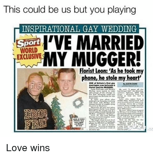 This Could Be Us but You Playing INSPIRATIONAL GAY WEDDING ...