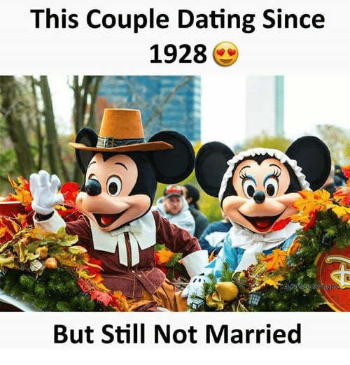 dating since 1928 still not married