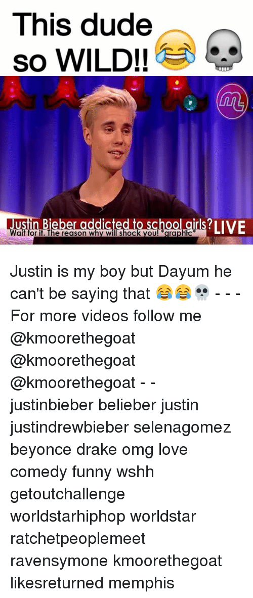 Beyonce, Drake, and Dude: This dude  so WILD!  t...  ait for it. The reason Why Will Shock OU  grap Justin is my boy but Dayum he can't be saying that 😂😂💀 - - - For more videos follow me @kmoorethegoat @kmoorethegoat @kmoorethegoat - - justinbieber belieber justin justindrewbieber selenagomez beyonce drake omg love comedy funny wshh getoutchallenge worldstarhiphop worldstar ratchetpeoplemeet ravensymone kmoorethegoat likesreturned memphis