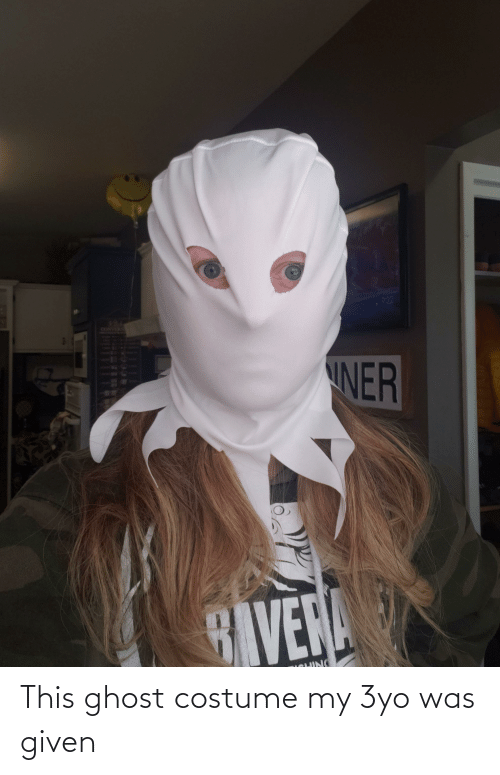 Was Given: This ghost costume my 3yo was given