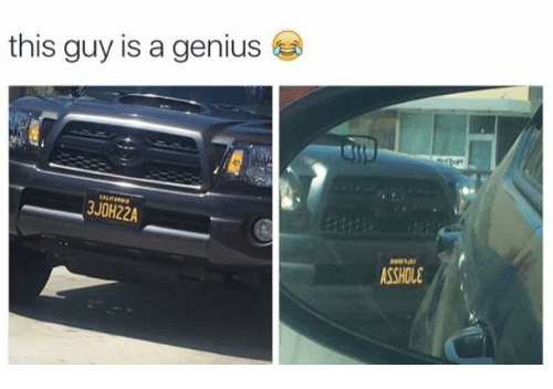 Assholl: this guy is a genius  3JOH22A  ASSHOLE