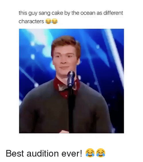 The Guy Who Sang Cake By The Ocean