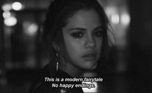 fairytale: This is a modern fairytale  No happy endings