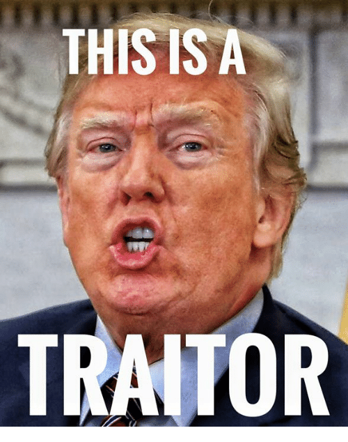 traitor: THIS IS A  TRAITOR