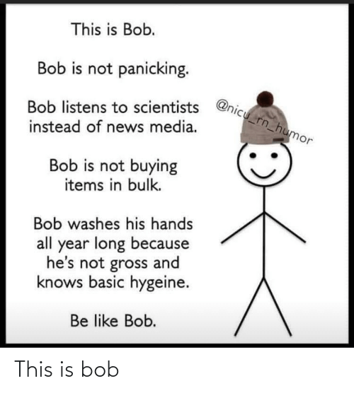 this is bob: This is bob