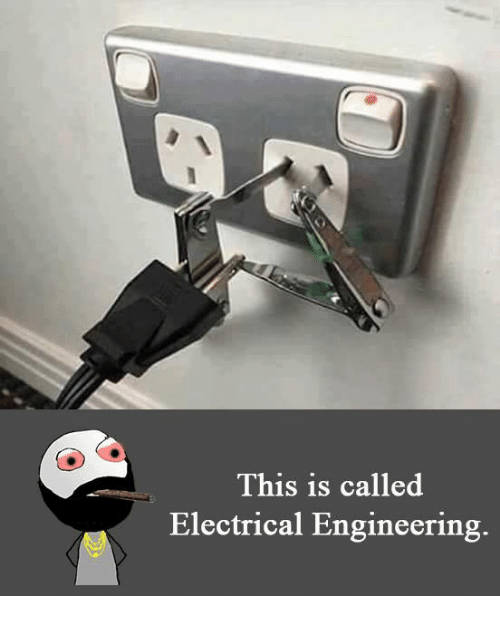 electrical engineer: This is called  Electrical Engineering.