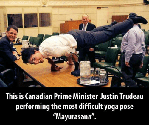 Justin Trudeau Prime Minister Of Canada Poses For A
