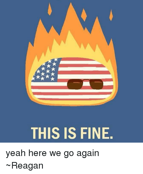 USABall: THIS IS FINE yeah here we go again ~Reagan