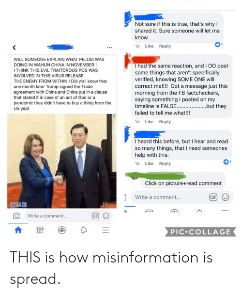 misinformation: THIS is how misinformation is spread.