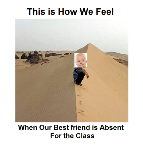 best friend: This is How We Feel  When our Best friend is Absent  For the Class