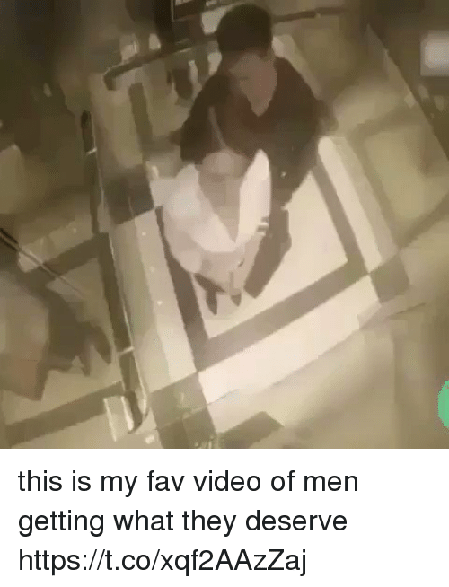 Video, Girl Memes, and They: this is my fav video of men getting what they deserve https://t.co/xqf2AAzZaj