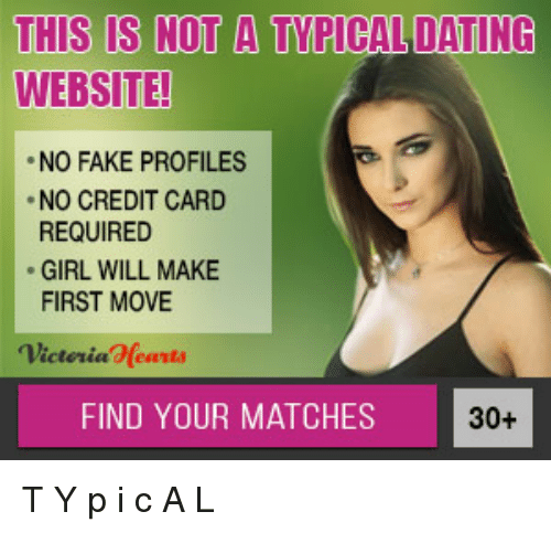 Dating site that does not require credit card