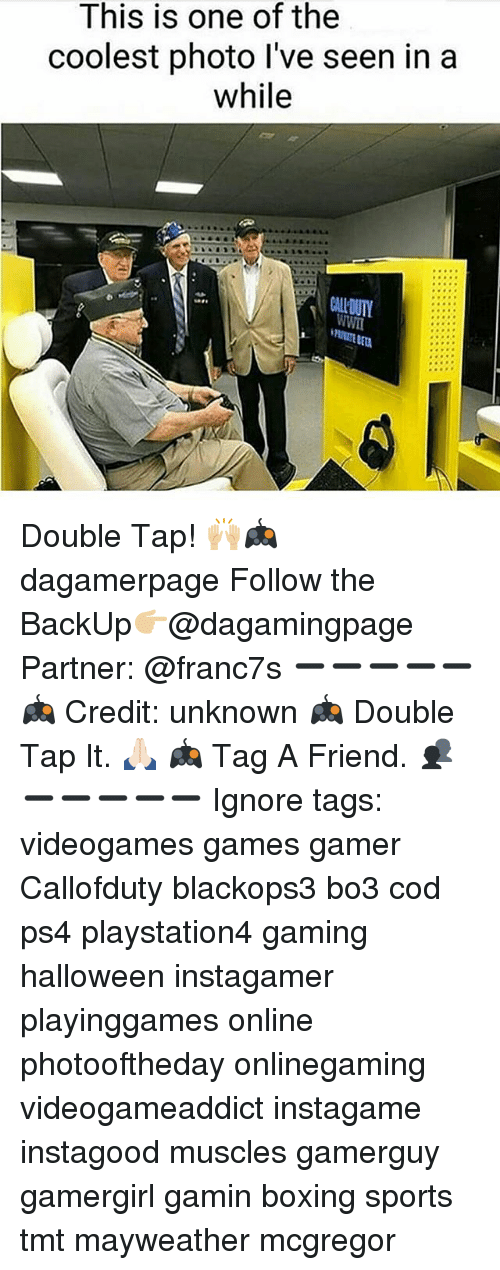Boxing, Halloween, and Mayweather: This is one of the  coolest photo l've seen in a  while  CALLOUTY Double Tap! 🙌🏼🎮 dagamerpage Follow the BackUp👉🏼@dagamingpage Partner: @franc7s ➖➖➖➖➖ 🎮 Credit: unknown 🎮 Double Tap It. 🙏🏻 🎮 Tag A Friend. 👥 ➖➖➖➖➖ Ignore tags: videogames games gamer Callofduty blackops3 bo3 cod ps4 playstation4 gaming halloween instagamer playinggames online photooftheday onlinegaming videogameaddict instagame instagood muscles gamerguy gamergirl gamin boxing sports tmt mayweather mcgregor