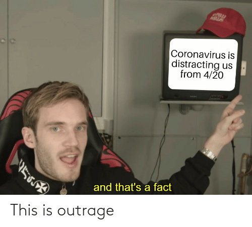 Outrage: This is outrage