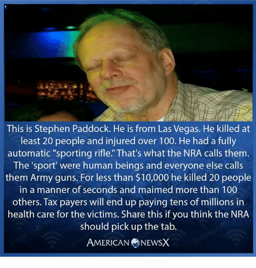 This is stephen paddock he is from las vegas he killed at for Stephen paddock 13 tattoo