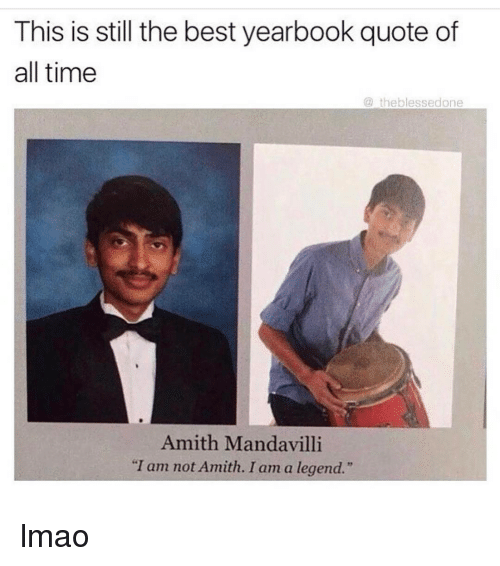 Serious Senior Quotes: 25+ Best Memes About Yearbook Quotes