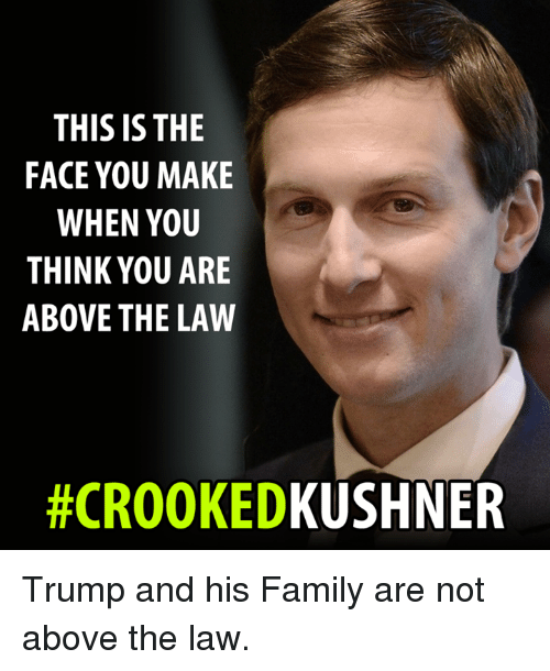 Trump Is Not Above The Law Home