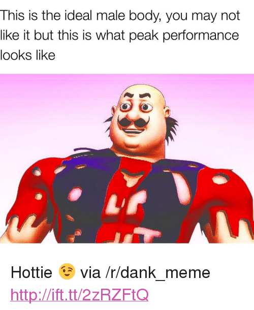 """hottie: This is the ideal male body, you may not  like it but this is what peak performance  looks like <p>Hottie 😉 via /r/dank_meme <a href=""""http://ift.tt/2zRZFtQ"""">http://ift.tt/2zRZFtQ</a></p>"""