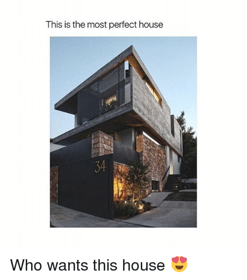 House, Relatable, and Who: This is the most perfect house Who wants this house 😍