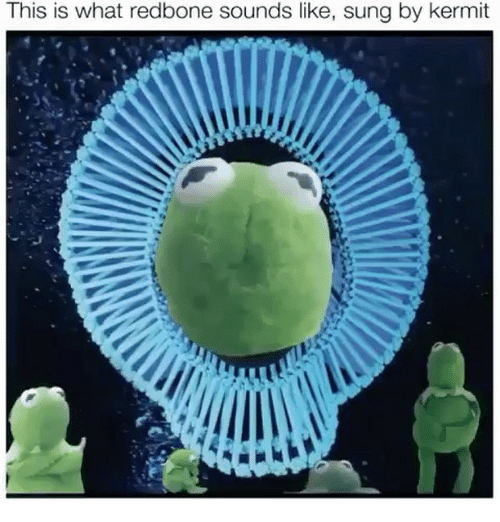 this is what redbone sounds like sung by kermit 26202304 🔥 25 best memes about redbone redbone memes,Redbone Memes