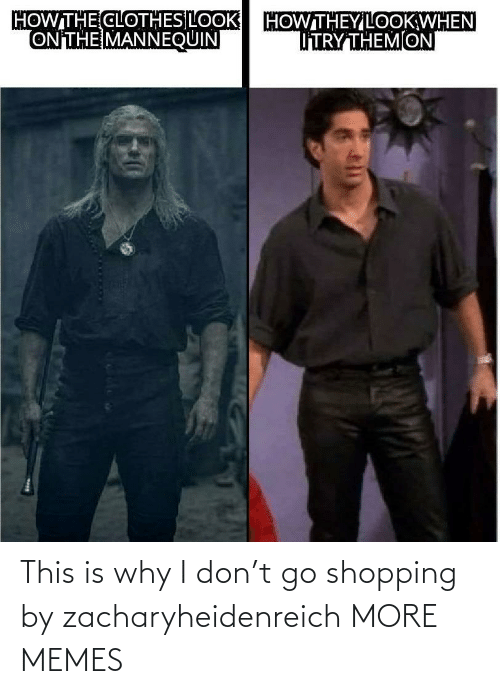 Shopping: This is why I don't go shopping by zacharyheidenreich MORE MEMES