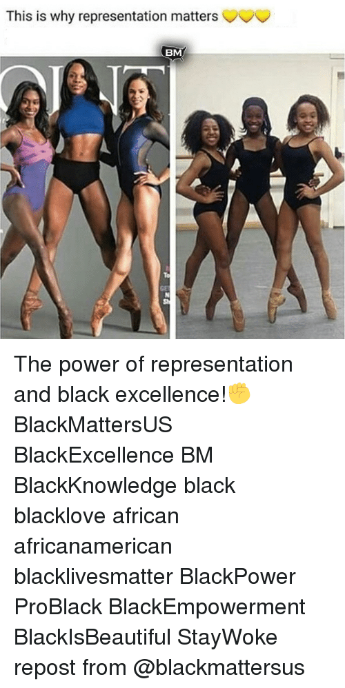 Blackpower: This is why representation matters  BM  GE The power of representation and black excellence!✊ BlackMattersUS BlackExcellence BM BlackKnowledge black blacklove african africanamerican blacklivesmatter BlackPower ProBlack BlackEmpowerment BlackIsBeautiful StayWoke repost from @blackmattersus