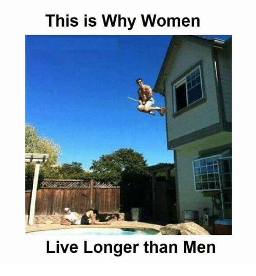 memes: This is Why Women  Live Longer than Men