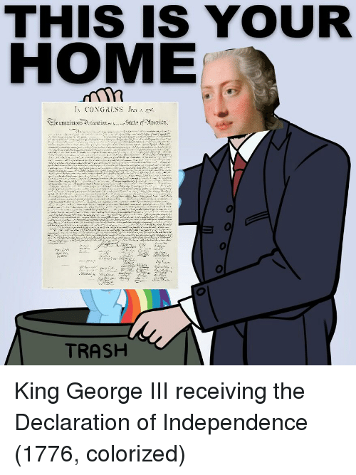 king george iii in the declaration of independence essay This free history essay on essay: the united states constitution is  king george iii took  thomas jefferson was the man who wrote the declaration of independence.