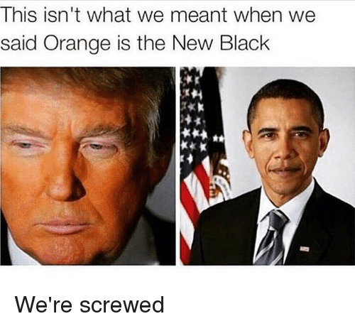 Orange Is the New Black: This isn't what we meant when we  said Orange is the New Black We're screwed
